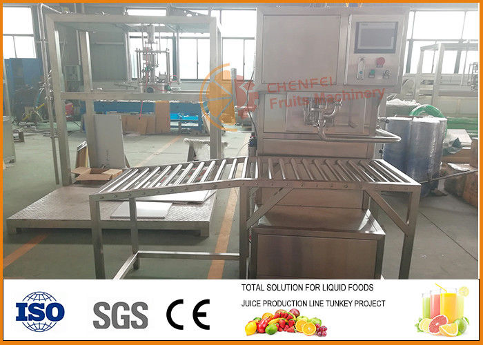5L/bag single head juice hot Filling BIB Machine