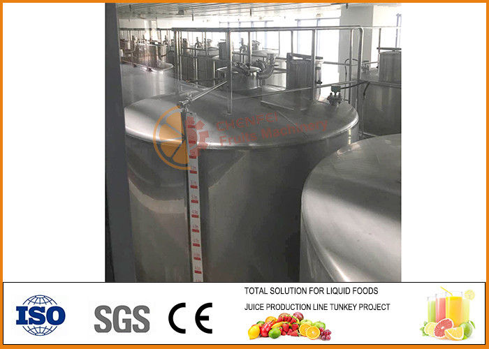 Processing And Fermentation Equipment For Fruit And Vegetable Juice Beverage