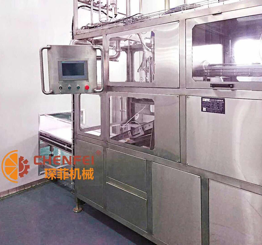 1.5 KW Automatic Aseptic Filling Machine 5L 240 Bags / Hour Filling Energy